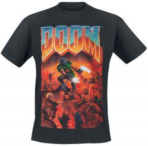 doom classic boxart t shirt