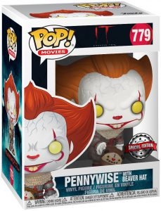 pennywise beaver hat funko