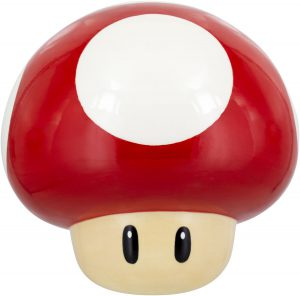 super mario mushroom cookie jar