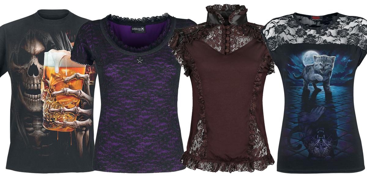 gothic t shirts