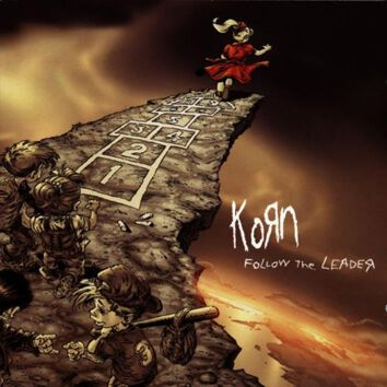 korn follow the leader CD album cover