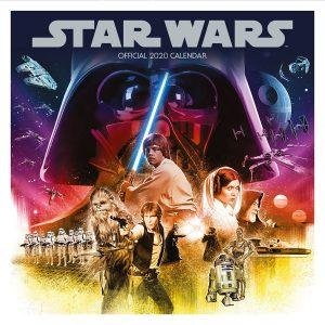 star wars 2020 wall calendar