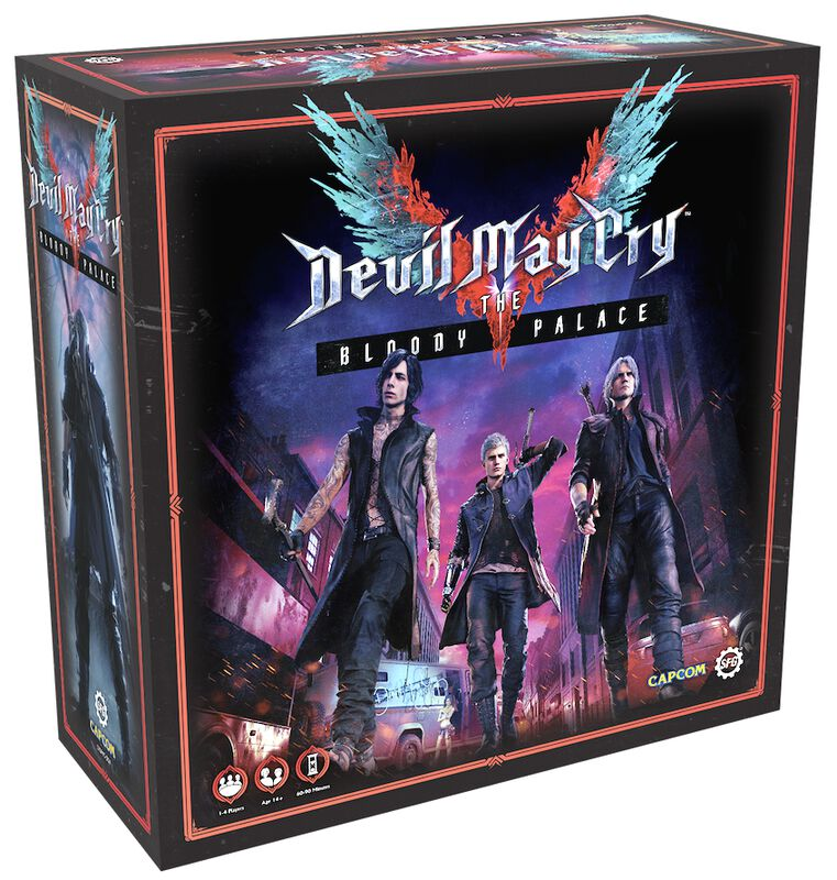 blood palace devil may cry board game
