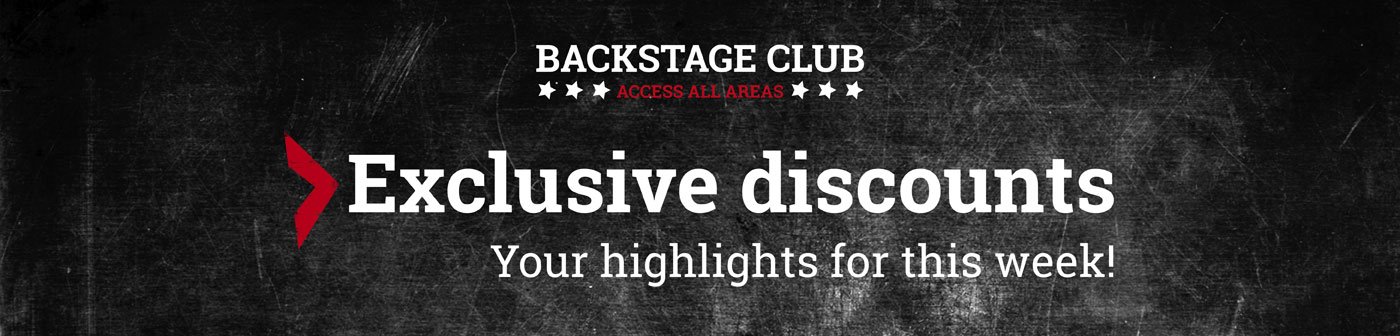 EMP Backstage Club - Exclusive discounts